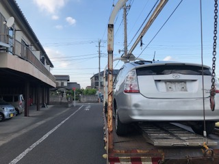 越谷市の故障車の廃車引き取り