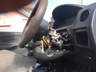 放置車両のレッカー車での廃車引き取り