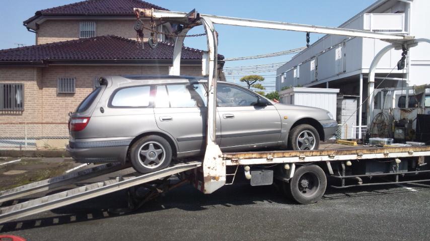 三郷市の故障車の廃車引き取り