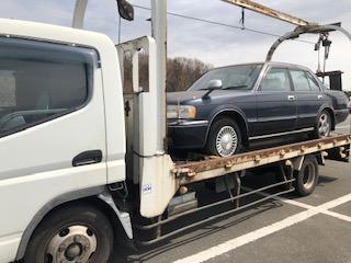 蓮田市のレッカー車での廃車引き取り