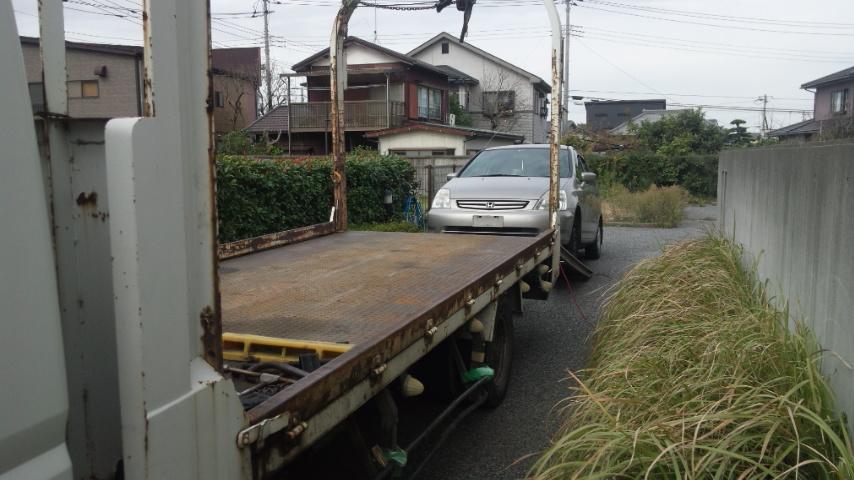 吉川市の故障車の廃車引き取り