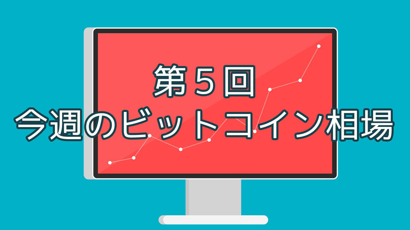 【第5回】今週のビットコイン相場 (3/12〜3/19)
