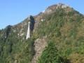 中道登山道から見る御在所岳