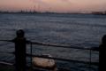 赤レンガ倉庫前の海