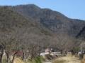 消防救急デジタル無線のアンテナがある百々ヶ峰山頂