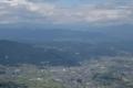 千曲川と善光寺平