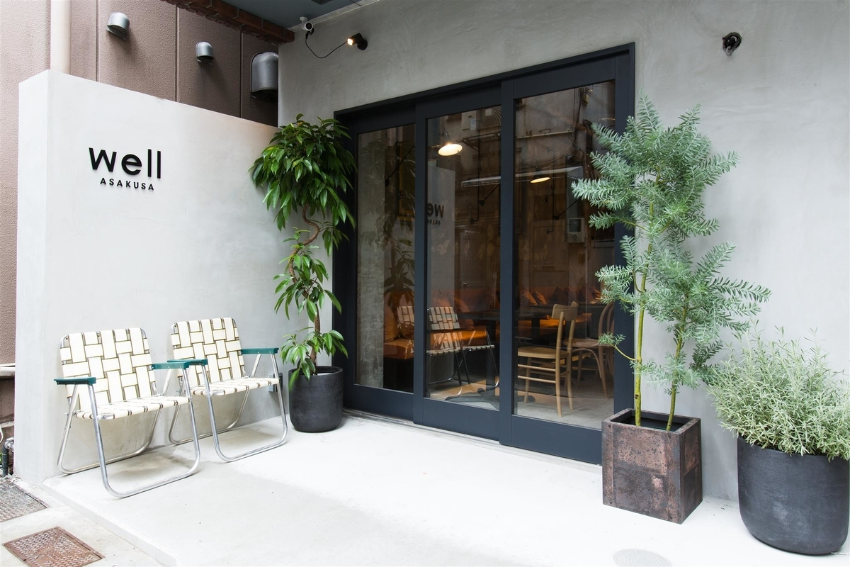 浅草でwi-fiや電源コンセントが利用できるカフェーwell