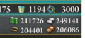 20160212 出撃!礼号作戦 作戦終了時資源
