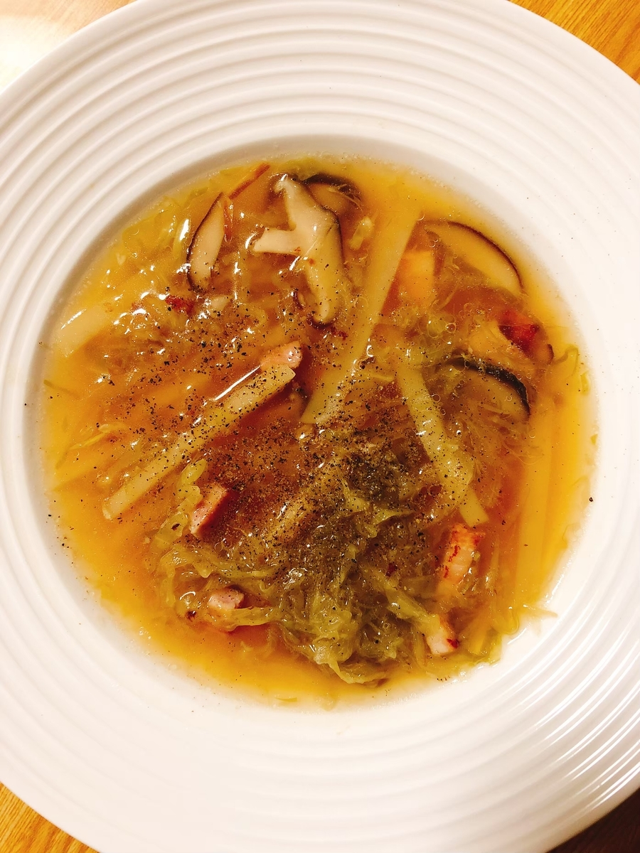 ザワークラウトで作るシンプルなスープ