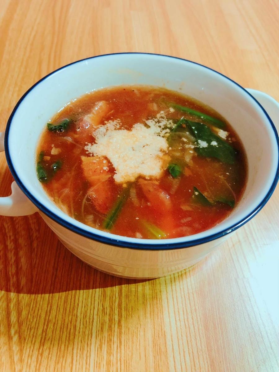 パンチェッタトマトスープ