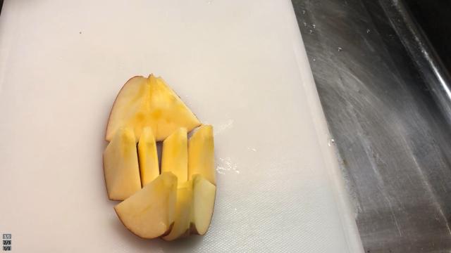 りんご三等分