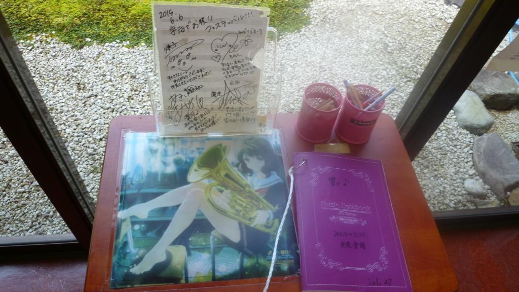 観光地によくある、落書きとかメッセージを残すためのノート