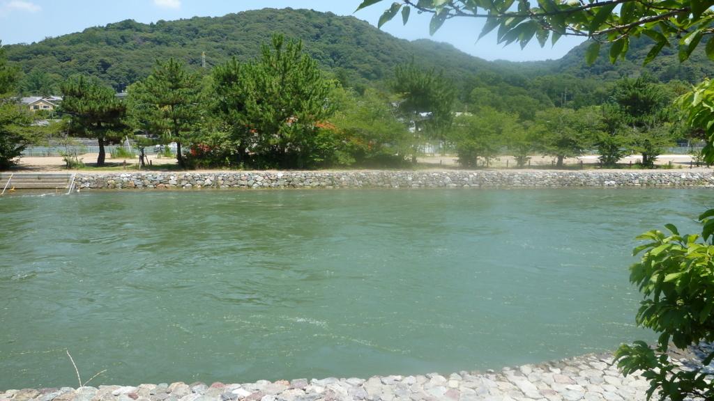 井川用水機場前