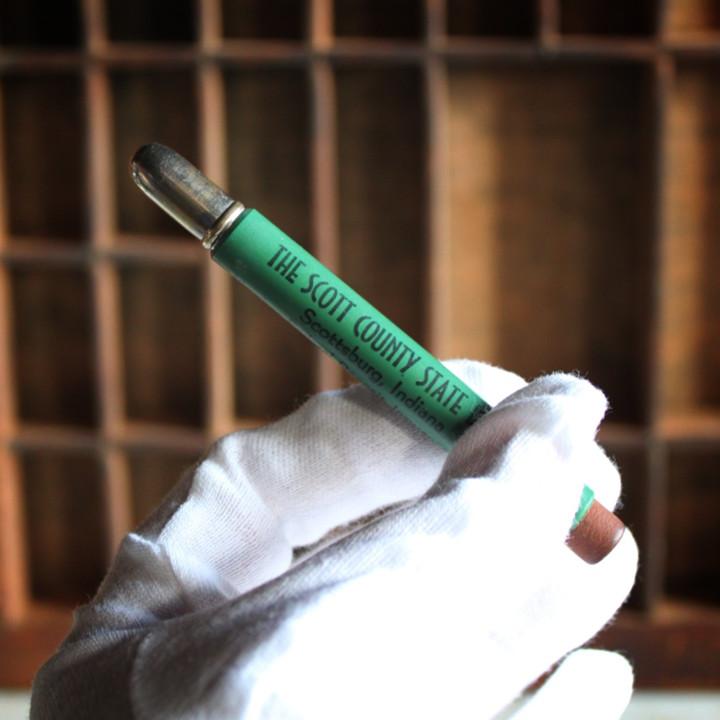 アンティーク雑貨|バレットペンシル弾丸型アドバタイジング鉛筆USAアメリカヴィンテージ
