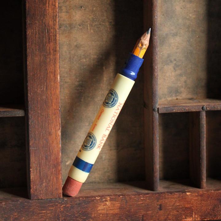 バレットペンシル弾丸型鉛筆|アンティークノベルティ企業ものアドバタイジング広告