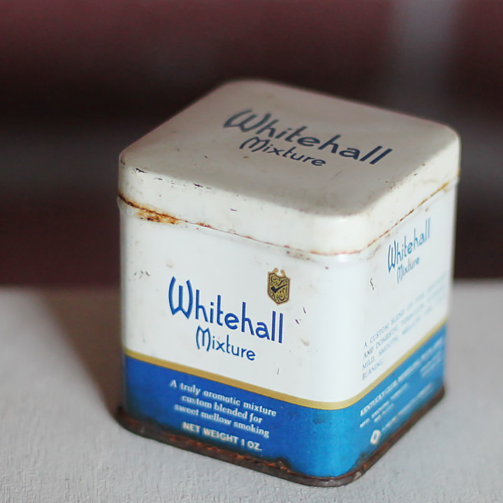 USAヴィンテージティン缶アドバタイジング|煙草シガーKENTUCKY CLUB Whitehall [OTH-19-002]