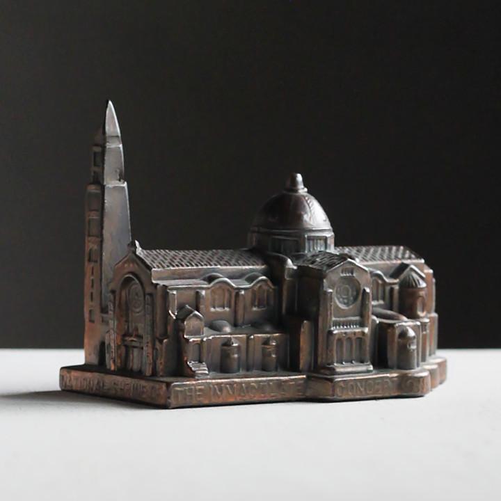USAアメリカヴィンテージ大聖堂の置物オブジェ|お土産スーベニア