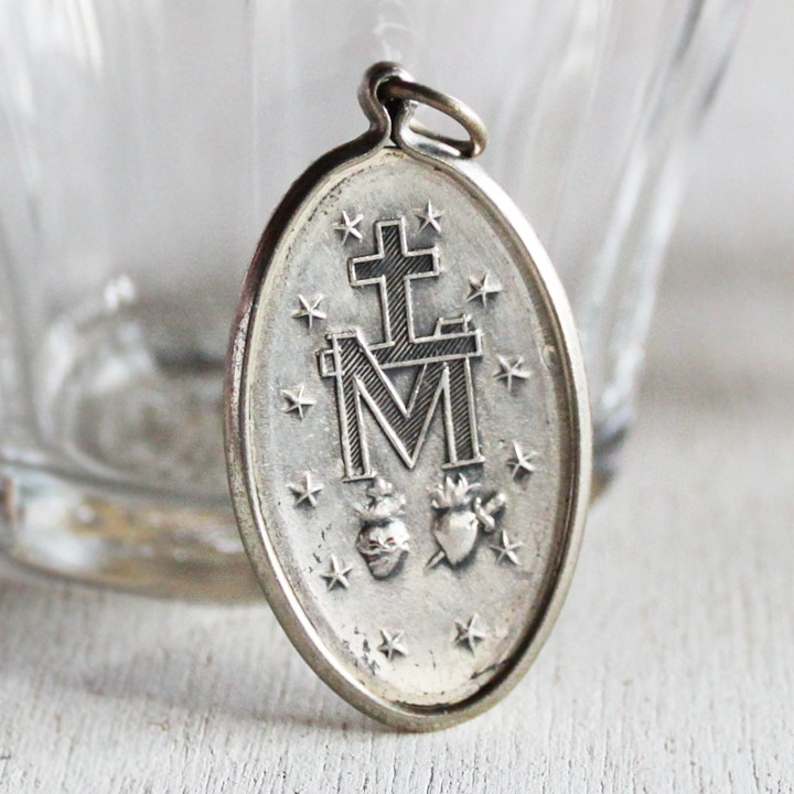 イエスの御心・聖母マリア聖心を表したモチーフ|不思議のメダイ