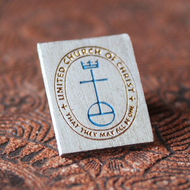 USAヴィンテージピンバッジキリスト教United Church of Christ|アンティーク雑貨聖品