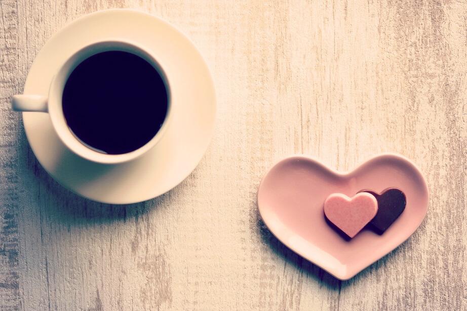 コーヒーとチョコ