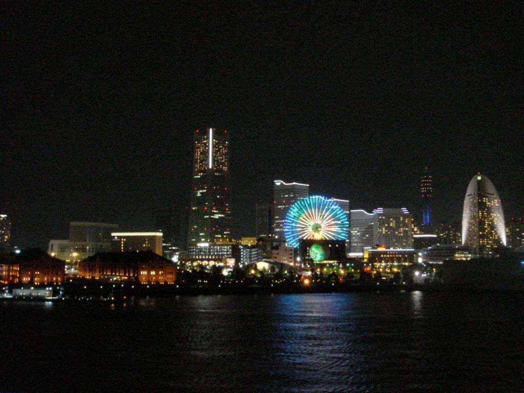大さん橋夜景