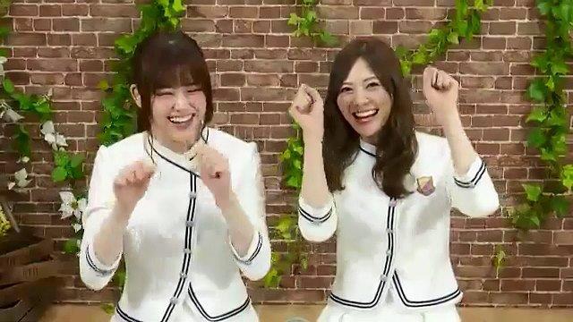 SHOWROOM白石麻衣、松村沙友理