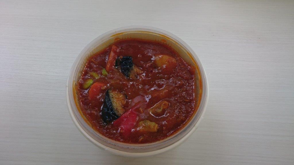 『彩り野菜カレー(もち麦ごはん)』2