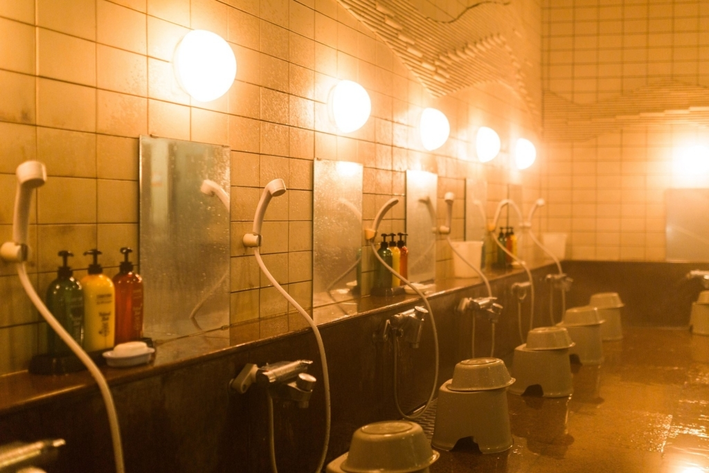 お風呂の鏡