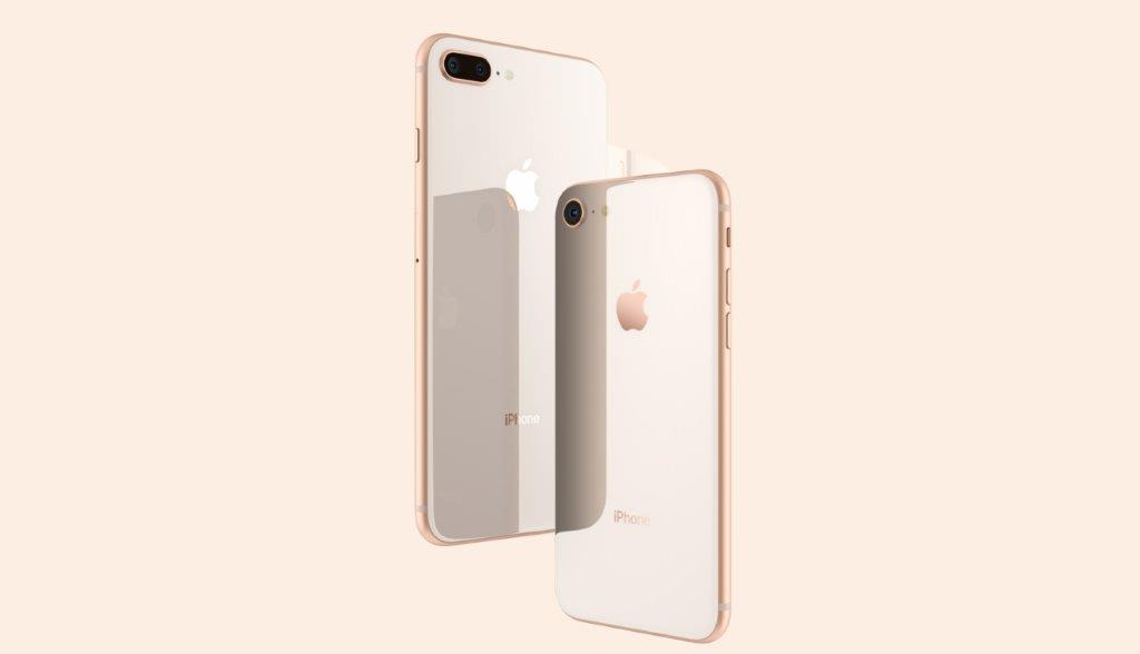 iPhone8 ローズピンク