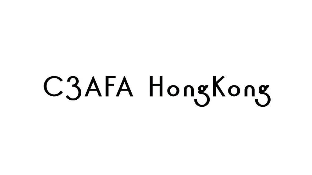 """C3AFA HONG KONG 2018"""""""