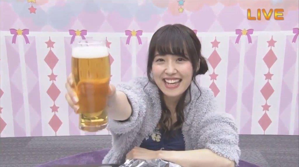 今夜も私は一人飲み 衛藤美彩