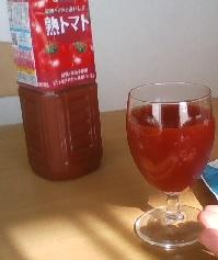 トマトジュースinワイングラス