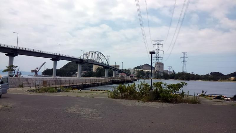 丹生の釣り桟橋