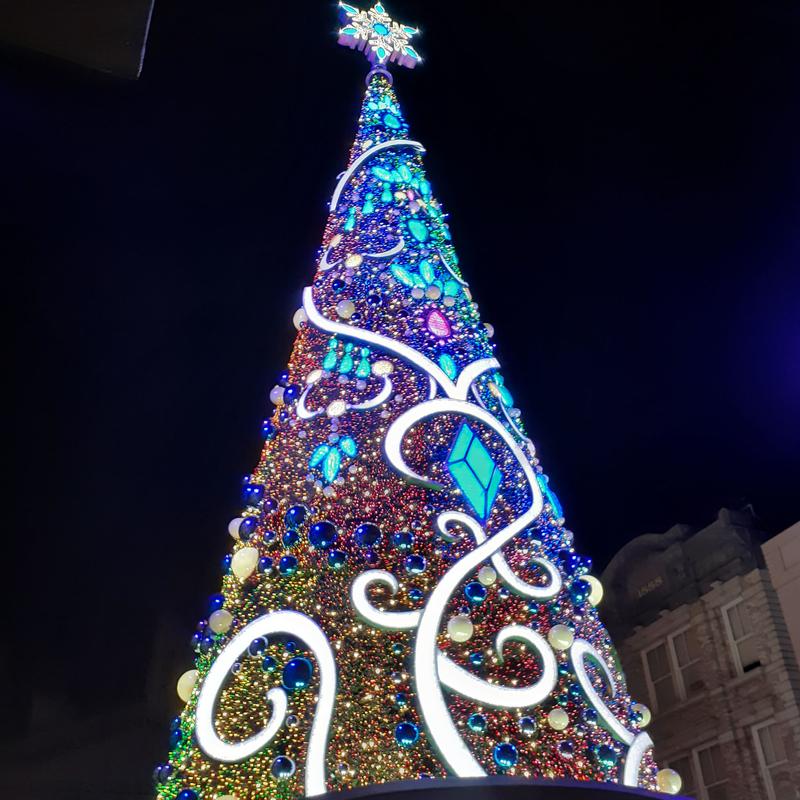 USJ_クリスマスツリー