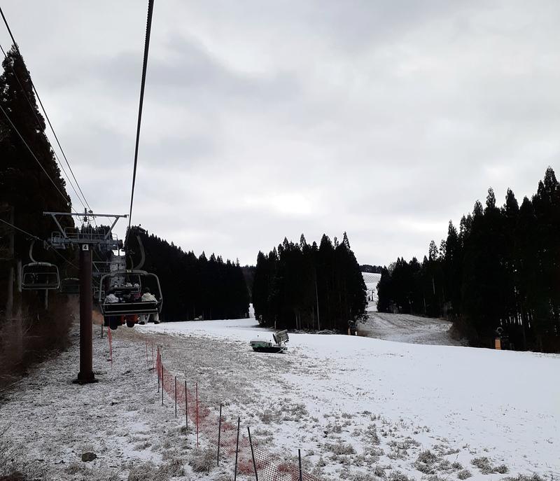 鷲ヶ岳スキー場_クワッドリフト