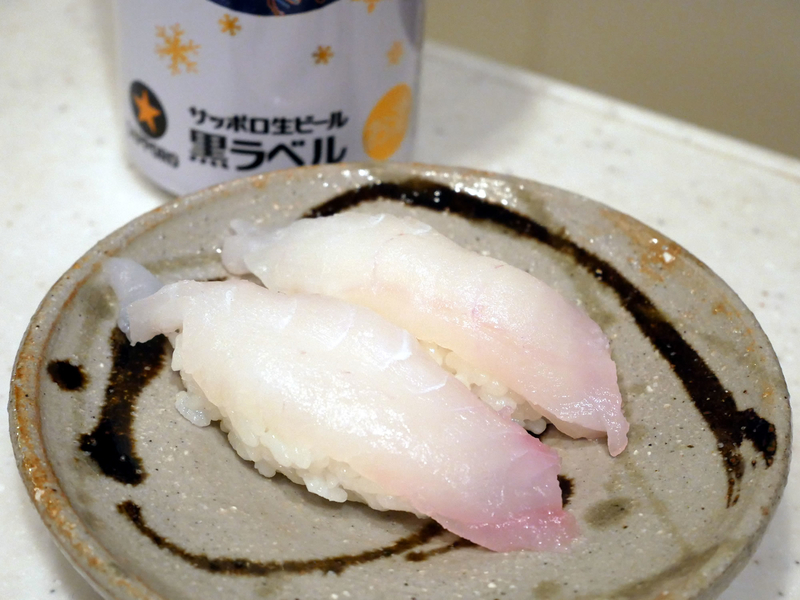 アマダイのお寿司