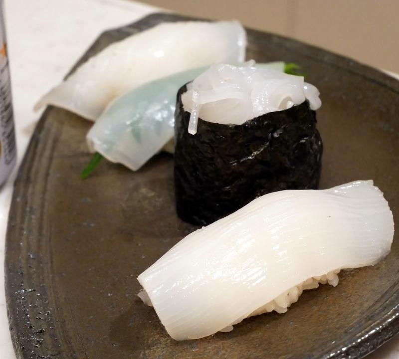 ヤリイカの寿司