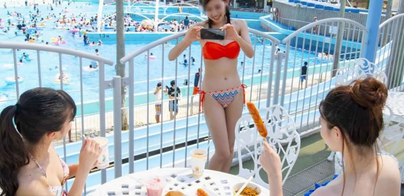 2020年のナガシマスパーランドのジャンボ海水プール