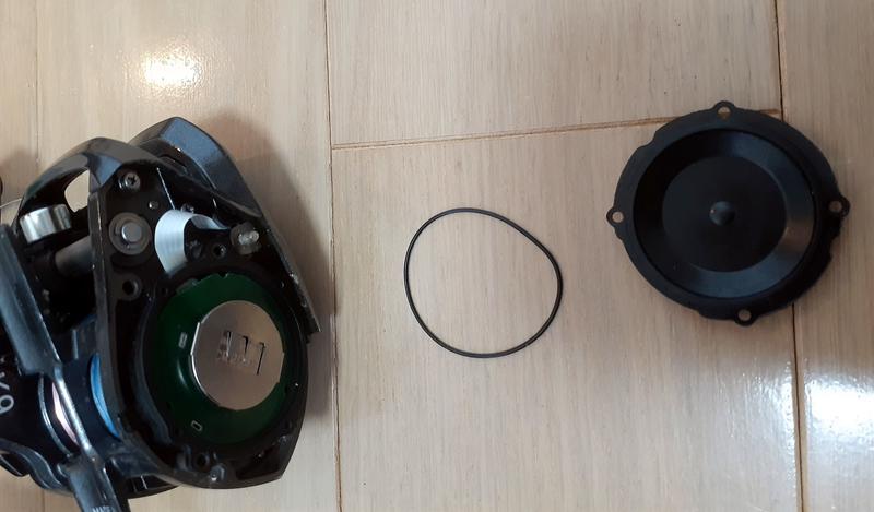 KOHGA_x_icの電池交換のゴムパッキン