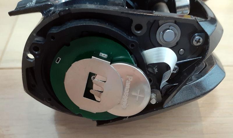 紅牙x_icの電池交換の手順_CR2032