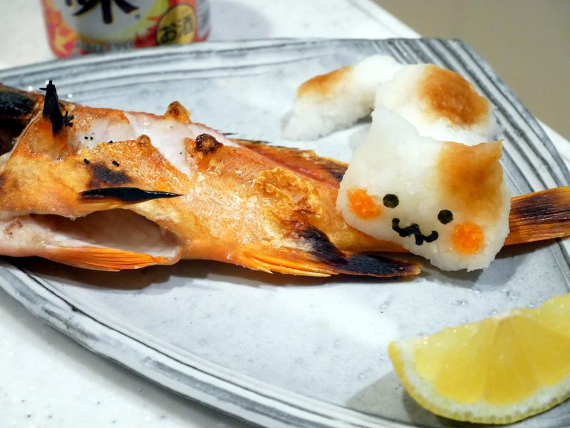 アカハタの塩焼き_with_猫おろし