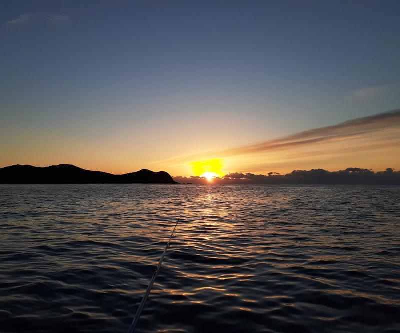 南伊勢の五ケ所湾の日の出