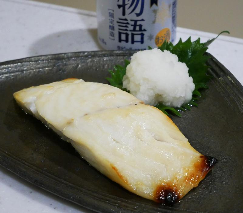 メダイの西京焼き