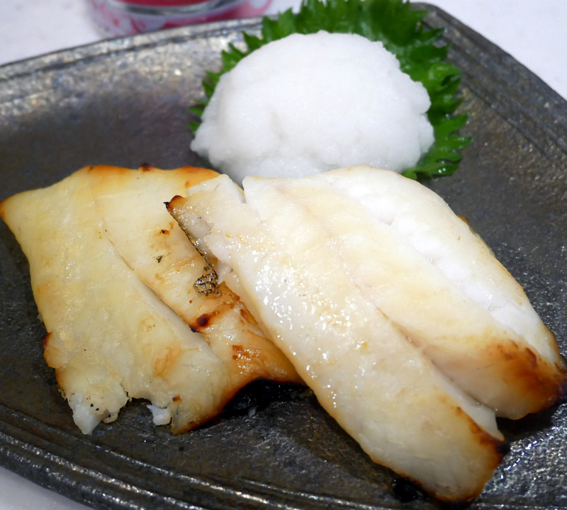 ヒラメの西京焼き