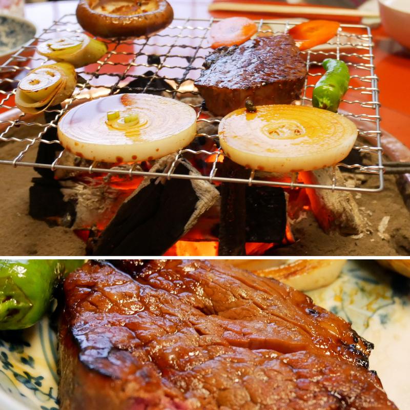 和田金のあみ焼きの単品