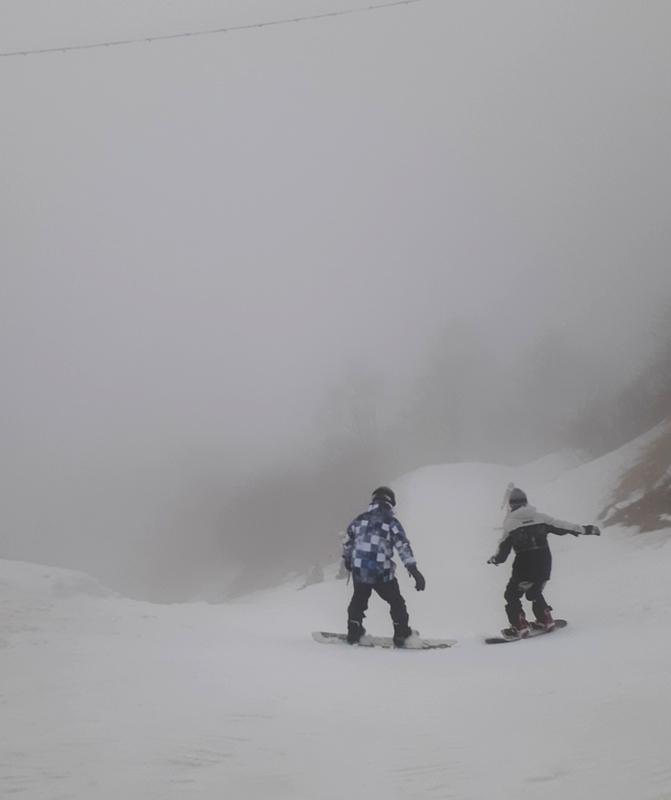 奥伊吹の天狗岩コースの頂上
