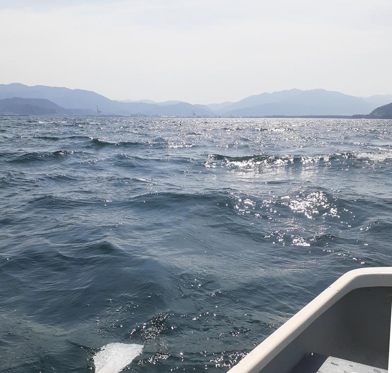 ボートで波高_風速6m以上