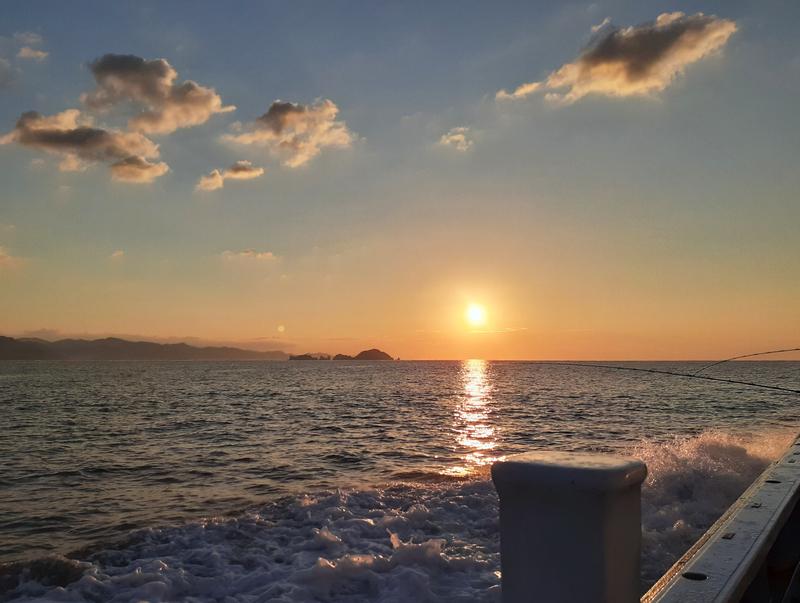 熊野灘の日の出
