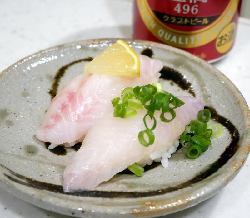 アコウのにぎり寿司
