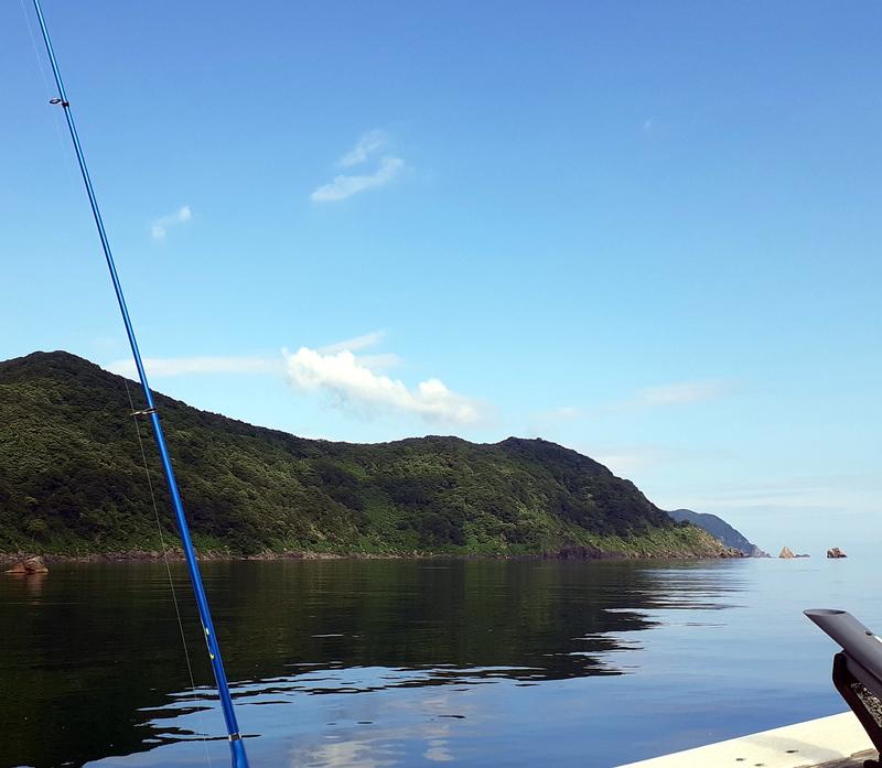 若狭湾でアジ釣り